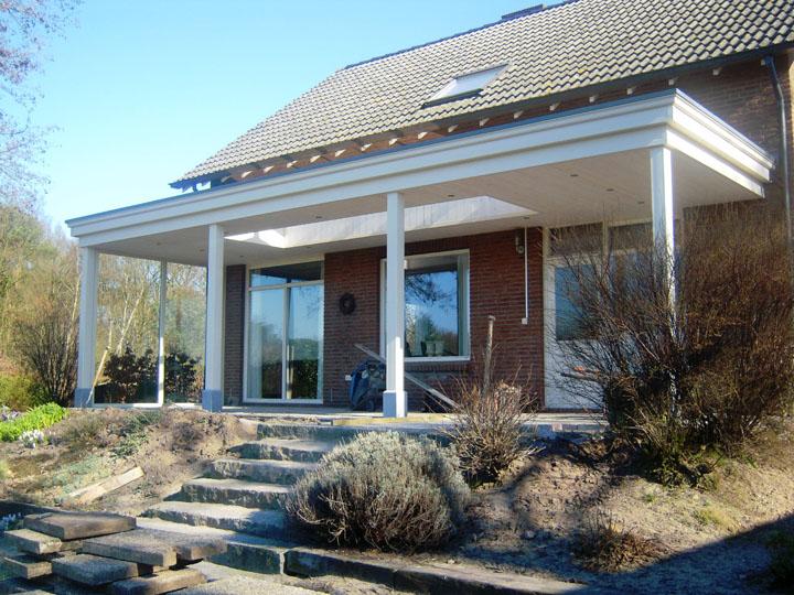 Iets Nieuws Luxe overkapping - veranda | H. Van Den Bergh Essen &NQ09