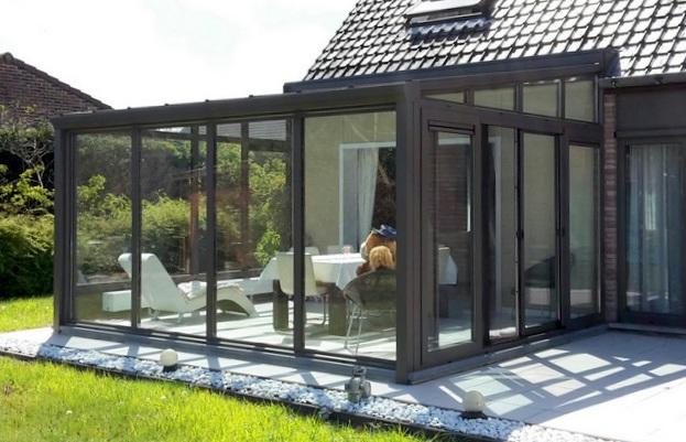 veranda serre serre adosse with veranda serre beautiful. Black Bedroom Furniture Sets. Home Design Ideas